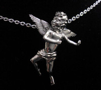 Fashion Unique 316L Stainless Steel Casting Vivid Baby Angel...