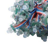 200 adet / grup WS2811 Kare PIKSEL Modülü 5 V 12 V 12 MM Dijital Dağınık Tam Renkli IP68 Su Geçirmez LED Moudules