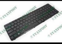 Teclado novo e original do notebook para HP Pavilion 17E 17-E 17-E000 17-E100 17-Exxx 17Z-E preto com QUADRO inglês dos EUA 725365-001