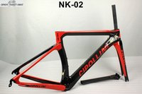 new arrival model fashionable carbon road bike frame red NK1...