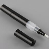 3ML البلاستيك تويست القلم ، القلم مستحضرات التجميل المحمولة مع رئيس فرشاة متعددة المستخدمة ، أنبوب ملمع الشفاه ، الاتصال الهاتفي القلم F20172539