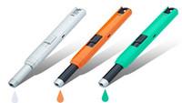 Nuovo rechareable elettrico caldo USB accendino antivento come fumatori accessary barbecue termocamino cucina arco polso più leggero