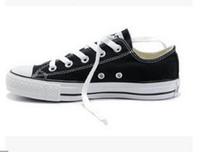2017 New 품질 클래식 저위급 하이 탑 캔버스 캐주얼 신발 운동화 남성 여성 캔버스 신발 크기 EU35-46 소매