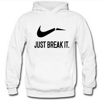 New Full Sleeve Sweatshirt Just Break It Printed Men Hoodies...