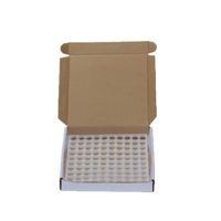 100sets / Kutu - Plug and Caps ile Ejuice Eliquid için 1 ml 2 ml Mini Amber Cam Esansiyel Yağı Numune Şişeleri Küçük Parfüm Damlalık Şişe