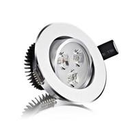 عكس الضوء كري 3W 5W 7W 9W 12W 15W LED النازل دافئ أبيض / بارد أبيض بقعة ضوء السقف راحة الصمام مع سائق الصمام