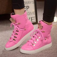 European fashion high to help couples shoes cool personality...