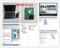 V10.53 ALLDATA ATSG Software Tool Données de réparation installées dans l'ordinateur portable E6420 (I5 CPU) Auto pour la voiture et le disque dur de voiture 1TB