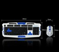 NUOVA tastiera e mouse wireless ad alta velocità HK8100 2.4G set Integrità di garanzia della qualità