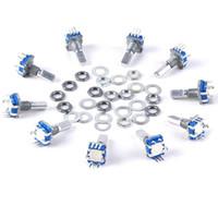Hot 30 stücke 12mm Drehgeber Drucktastenschalter Keyswitch Elektronische Komponenten