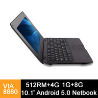 10. 1 inch Mini laptop VIA8880 Netbook Android 5. 0 laptops VI...