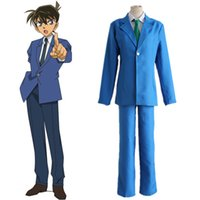 Anime Detective Conan Case Closed cosplay Conan Costume Jimm...