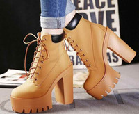 Leather High Heel Boots Autumn winter Women Boots 2005 Fashi...