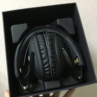 Marshall Monitor Foldable Headphones with MIC Leather Noise ...