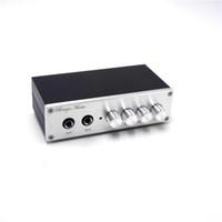 Freeshiping JRC5532 نظام الميكروفون خلاط تأثيرات ترددية تردد التلفزيون جهاز فك التشفير PC K أغنية ميكروفون مايك مكبر المضخم