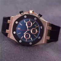 AAA Quality Mens Watches Silicone Mechanical Wristwatches To...