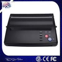 Groothandel-laagste prijs A4 Transfer Papier Zwart Tattoo Copier Thermische Stencil Copy Transfer Tattoo Machine