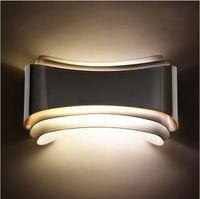 Современный Минималистский 5 Вт Светодиодные Настенные Светильники Бра Бра Прикроватные Настенные Светильники для Гостиной Комнаты