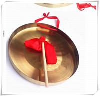 2016 nuovo gong di 28cm di tono basso con i grembiuli di martello sisals Strumenti musicali tradizionali cinesi