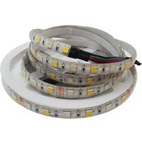 RGBW LED-remsa 5050 DC12V 24V Flexibelt ljus 4 Färg i 1 LED-chip 60 LED / M 5m / LOT
