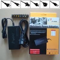 Универсальный 96 Вт ноутбук ноутбук 15 в-24 в зарядное устройство переменного тока адаптер питания с ЕС Великобритания AU США штекер с 8 разъемами