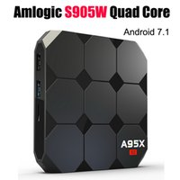 Android 7. 1 TV Box Amlogic S905W A95X R2 Quad Core TV Boxes ...