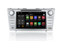 """Toyota Camry 2006-2011用HD 8 """"純粋なAndroid 5.1.1車のDVD PC GPS"""