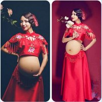 2017 New Maternity Photography Props Dresses Maternity Gown ...