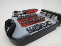 46PCS Socket and Bit Hand Tools Set Screwdriver Set High Qua...