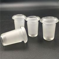 Mini maschio da 18 mm a feamle 14mm femmina adattatori di vetro convertitore per fumare Recycler petrolifera Bongs