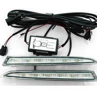 1x paire de feux de circulation diurnes 12V LED DRL feux de route antibrouillard pour 2013 pour Ford ESCAPE KUGA 90LM étanche