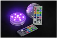 3W Luci per immersione luminose Lampade a distanza a tenuta stagna per acquatiche Luce subacquea per animali acquatici a LED Luci natalizie Immersione per pesci RGB