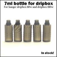 Dripbox 병 7ml 병 kanger dripbox 60w 스타터 키트 subdrip 160w dripbox 160 교체 7.0ml 플라스틱 애완 동물 병에 대 한 예비 탱크