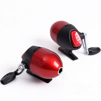 Red Spin Cast Bow Crossbow Casting Reel Spinning Reel Linea interna per riprese Fish Wheel Built-in close