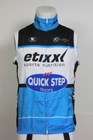 WINDSTOPPER WINDPROOF 2015 ETIXX QUICK STEP PRO TEAM BLUE ONLY SELLEELEST VEST CYCLING JERSEY CYCLING WEAR SIZE: XS-4XL
