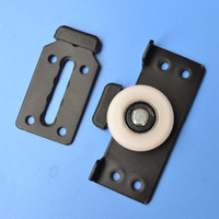 Mobili Posizionamento Caster Puleggia Sheave Nylon Energy Risparmio di energia Armadio Cassetto Cassettiera Armadi scorrevoli Ruota porta