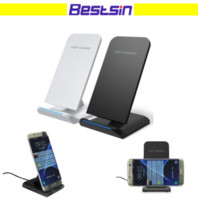 Bestsin Wireless Charger Stand for mobile Fast Charging Pad ...