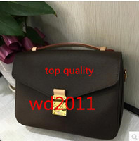 Mulheres Quentes Top Quality Messenger Bag Ombro Mulheres Moda Chain Bag Moda Real Leathe Saco de Ombro Bags Bags