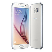 تم تجديده الأصلي سامسونج غالاكسي S6 G920A G920T G920F Octa Core 3GB RAM 32GB ROM Android الهاتف الذكي