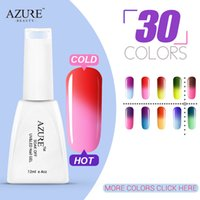 fashion Azure Temperature Changing gel 30pcs set Change Colo...