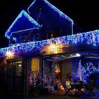 Umlight1688 200 stücke Led String 9 farben 10 Mt 100 LED Lichterketten blitzlicht Weihnachtsfeier Fee hochzeit lampen Funkeln licht
