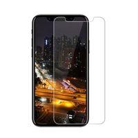 Protecteur d'écran en verre trempé pour iPhone 8 7 6S 6 Plus X 10 5S SE Samsung Galaxy S7 S6 S5 Note 8 Sans emballage de vente au détail