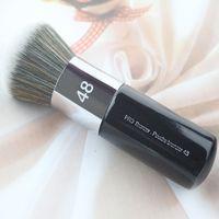 2017 heißer Verkauf Professionelle Helle Puderpinsel 48 Weiche Färben Runde Dickes Make-Up Pinsel Synthetische Haar Kabuki Pinsel