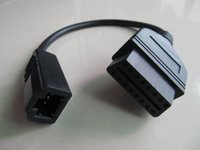 OBD-adapter voor HONDA 3PIN tot 16PIN OBD2 KABEL 2 STKS / PARTIJ