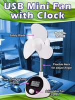 Wholesale 4 in 1 USB Fan with Time Calendar Temperature and ...