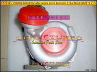Turbo pour Mercedes-Benz Sprinter 216CDI 316CDI 416CDI OM612 2,7L GT2256V 709838 709838-0005 709838-0003 709838-0001 A6120960399