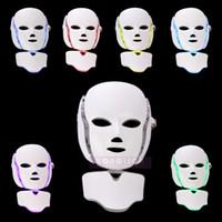 2017 New factoty atacado facial máscara de oxigênio equipamento de beleza levou tratamento de luz facial cuidados com a pele máscara vermelha