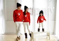 primavera autunno famiglia corrispondenza madre figlia padre bambino abbigliamento ragazza tees ragazzi T-shirt bambini fumetto moda casual QZSZ002