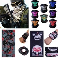 NewSkull Design Multi Function Bandana Ski Outdoor Sport Mot...