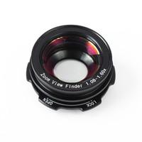 Freeship 1.08x-1.60x Zoom lupa del ocular del visor para Canon D30 / 40D / 60D / 300D / 350D / 400D / 450D para Nikon D7100 D7000 D5300 D5100 D3300
